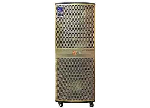 Loa kéo Hoxen LP215, loa karaoke thùng gỗ, công suất max 800W