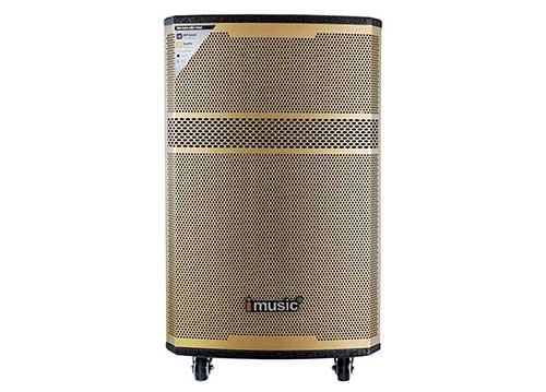 Loa kéo iMusic MK33, loa karaoke thùng gỗ cao cấp, PMPO 600W