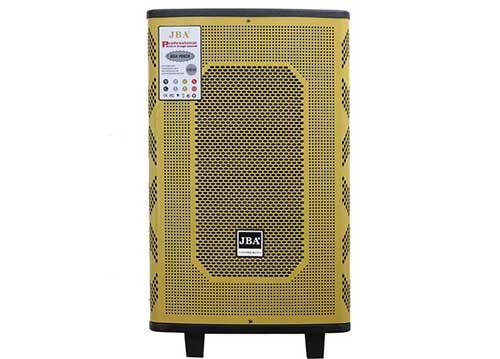 Loa kéo JBA CH15-58, loa karaoke bass 4 tấc, 2 mic ko dây