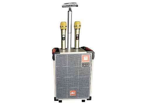 Loa kéo JBZ J+101, loa karaoke cỡ nhỏ, kèm 2 mic ko dây