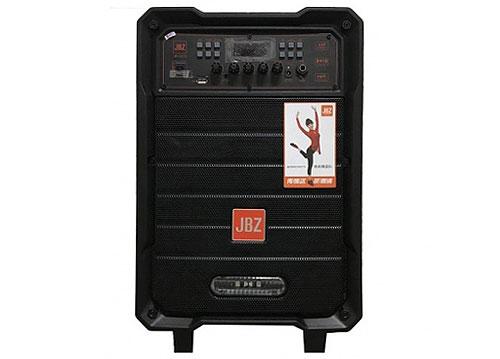 Loa kéo JBZ JB+0813, loa gỗ 2.5 tấc, kèm 2 mic không dây
