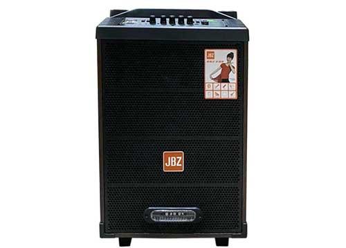Loa kéo JBZ JB+1001, loa karaoke mini vỏ gỗ, bass 2.5 tấc