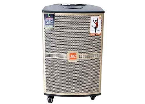 Loa kéo JBZ JB+1208, loa karaoke vỏ gỗ cao cấp, bass 3 tấc