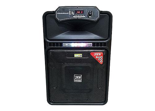 Loa kéo JMW 15-15, loa karaoke vỏ nhựa hơn 4 tấc, max 450W