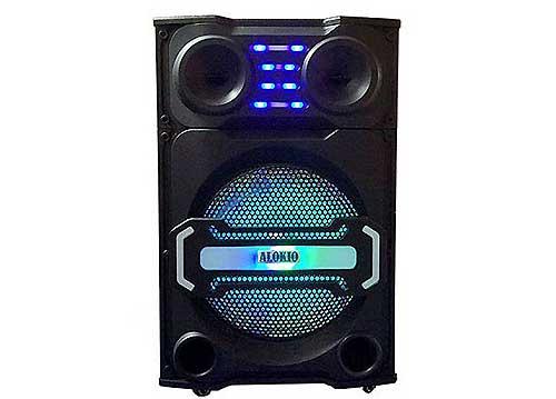 Loa kéo karaoke Alokio WML-SL815, loa thùng gỗ, công suất đỉnh 550W