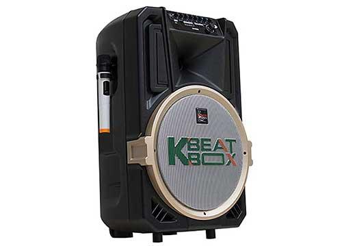Loa kéo karaoke Beatbox CB39U với 30.000 bài hát trên app Cloudbox