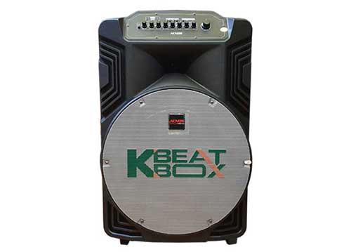 Loa kéo karaoke Beatbox KB39Z, loa di động bass 4 tấc, max 450W