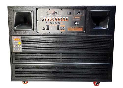 Loa kéo karaoke P110, loa ráp kiểu kệ tủ, 6 đơn vị loa