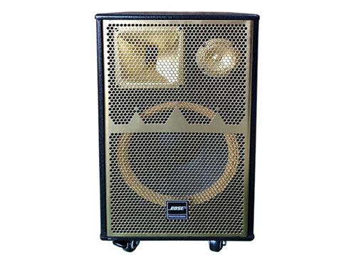 Loa kéo karaoke T-3000, loa di động vỏ gỗ, bass 3 tấc