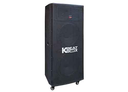 Loa kéo Kbeatbox KB63, loa karaoke Acnos 2 bass, PMPO 800W