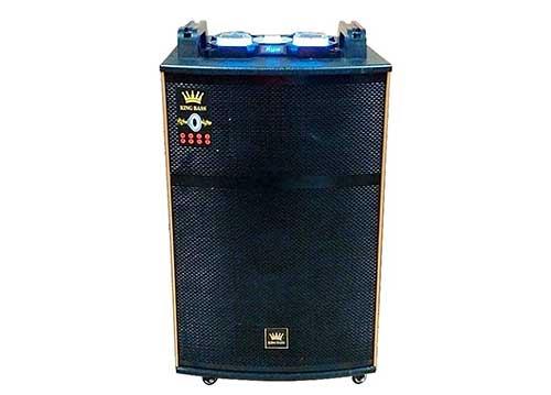 Loa kéo Kingbass DP1538, loa karaoke 3 đường tiếng, công suất 600W