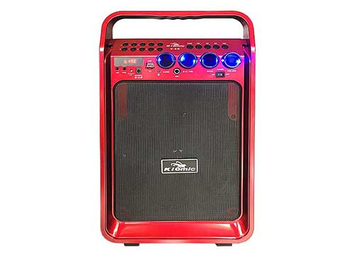 Loa kéo Kiomic K28, loa karaoke mini 2.5 tấc, công suất RMS 80W