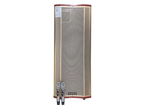 Loa kéo KTV GD215-07, loa 2 bass vỏ gỗ, công suất khủng