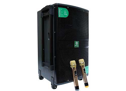 Loa kéo Mantis ND-6116A, loa karaoke di động, công suất tối đa 500W