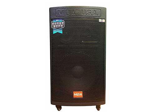 Loa kéo MBA DSP19 plus, loa gỗ hát karaoke, công nghệ từ Mỹ