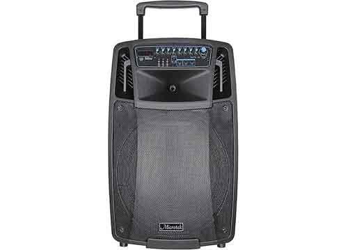 Loa kéo Microtek MTK-08, loa karaoke gia đình, bass 4 tấc