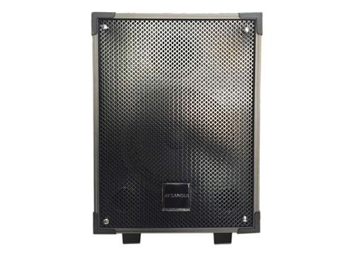 Loa kéo mini Sansui 800A, loa karaoke thùng gỗ, bass 2 tấc