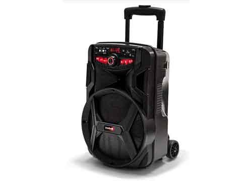 Loa kéo Mobell MH-1021A, loa karaoke vỏ nhựa, bass 2.5 tấc