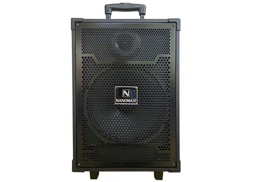 Loa kéo Nanomax S-10C, loa karaoke gia đình, bass 2.5 tấc
