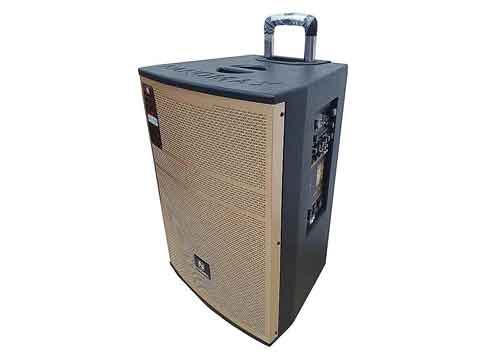 Loa kéo Nanomax SK-15A6, loa karaoke 3 đường tiếng, max 600W