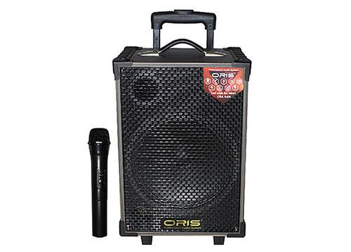 Loa kéo ORIS TO-08, loa karaoke 2.5 tấc, kèm 1 mic ko dây