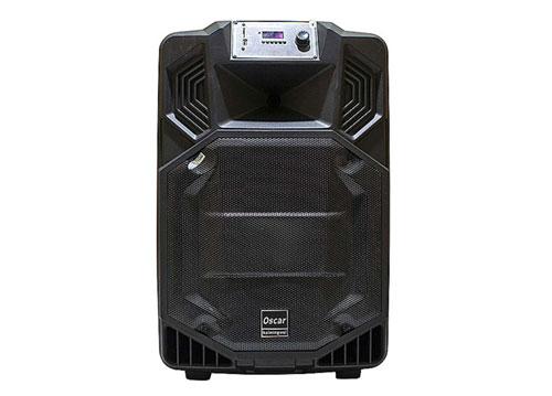 Loa kéo OSCAR SR-12N, loa karaoke vỏ nhựa 3.4 tấc, max 400W