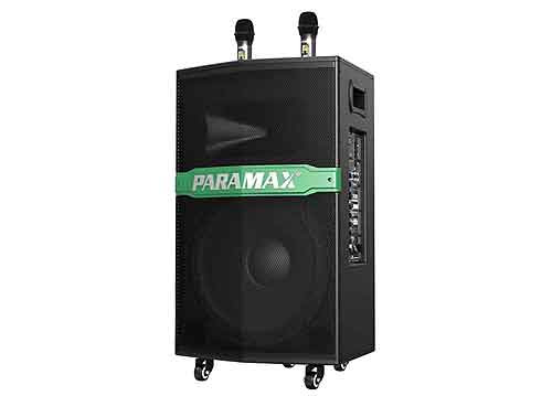 Loa kéo Panamax GO-300 new, loa karaoke vỏ gỗ, max 400W