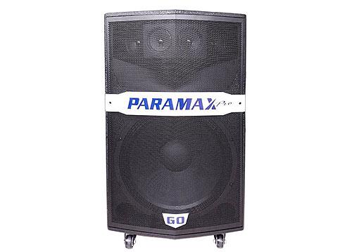 Loa kéo Paramax GO-300, loa karaoke 3 đường tiếng, đỉnh 400W