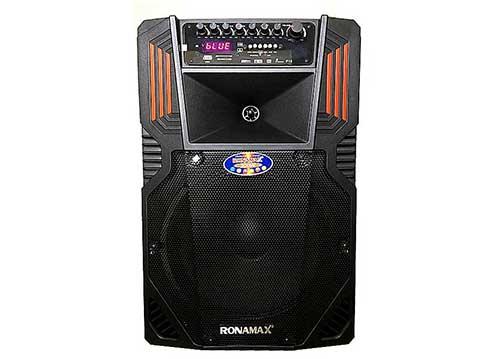 Loa kéo Ronamax F15, loa karaoke di động, công suất tối đa 600W