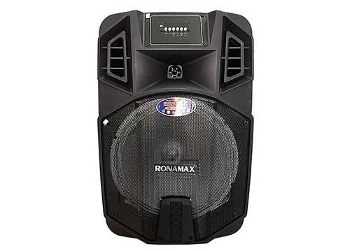 Loa kéo Ronamax K12, loa karaoke bass 3 tấc, công suất tối đa 300W