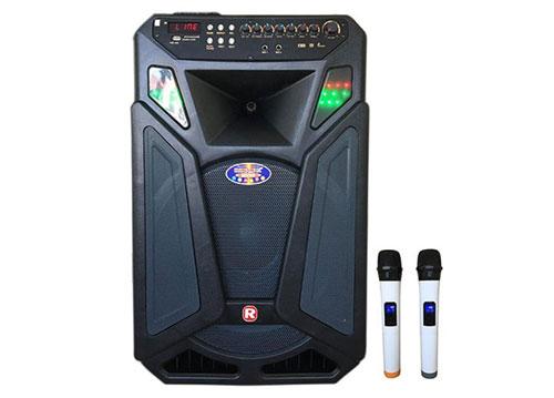 Loa kéo Ronamax L15A, loa karaoke di động - bass 4 tấc
