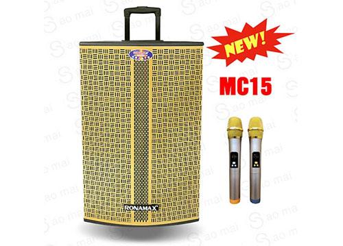 Loa kéo Ronamax MC15, loa chuyên dùng hát karaoke, max 500W