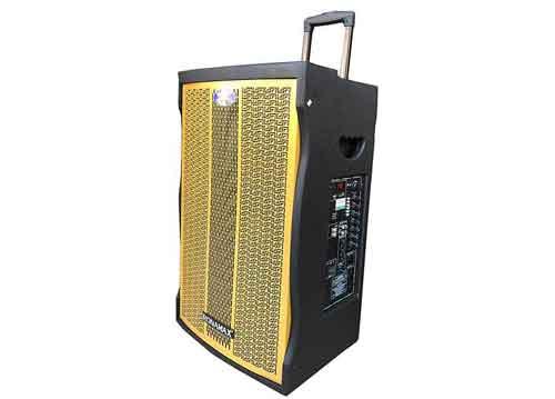 Loa kéo Ronamax MT15, loa karaoke di động, bass 4 tấc