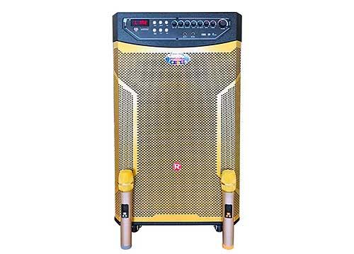 Loa kéo Ronamax MU18, loa karaoke Thái Hoa, vỏ gỗ 5.5 tấc