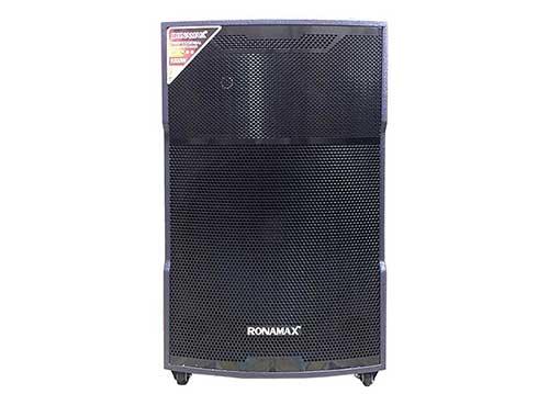 Loa kéo Ronamax MV18, loa karaoke di động - công suất 200W/ đỉnh 500W