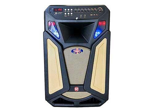 Loa kéo Ronamax U15A, mẫu loa karaoke 2018, công suất đỉnh 450W