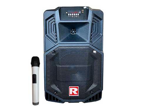 Loa kéo Ronamax V8, loa karaoke mini bass 2 tấc, công suất 80W