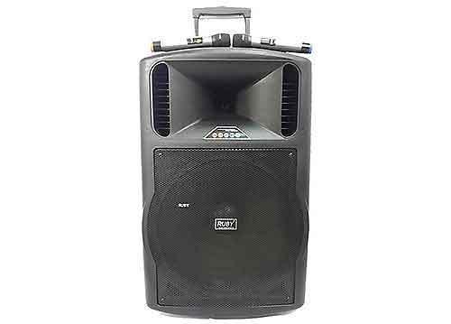 Loa kéo RUBY R-182A, loa karaoke cỡ lớn, công suất max 450W