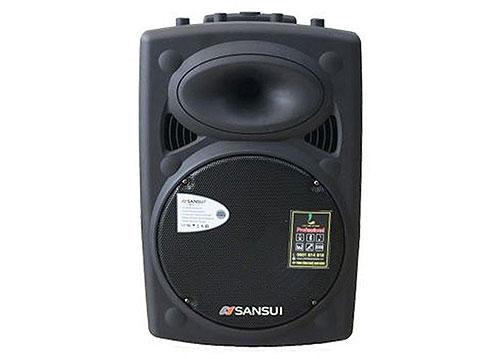 Loa kéo Sansui A15-90, loa vỏ nhựa bass 4 tấc, max 450W