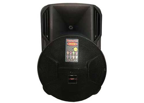 Loa kéo Sansui A16-18, loa karaoke vỏ nhựa 4.5 tấc, max 450W