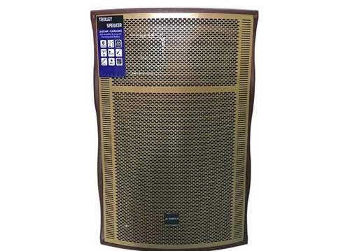 Loa kéo Sansui SG10-15, loa karaoke thùng gỗ cao cấp, cực hay