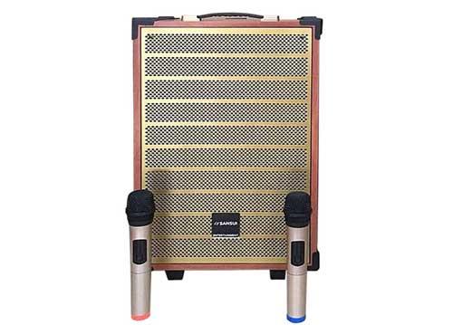 Loa kéo Sansui SG2-18, loa di động hát karaoke, công nghệ Nhật