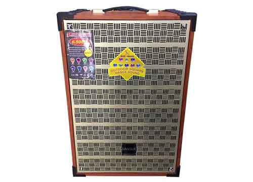 Loa kéo Sansui SG2-19, loa karaoke bass 3 tấc, kèm 2 mic