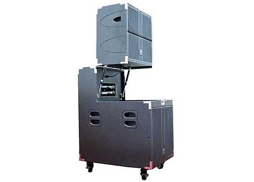 Loa kéo Sansui SG9-15, dàn loa array karaoke cao cấp 5 loa