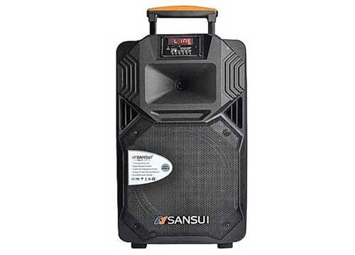 Loa kéo Sansui SS1-10, loa karaoke mini, bass 2.5 tấc
