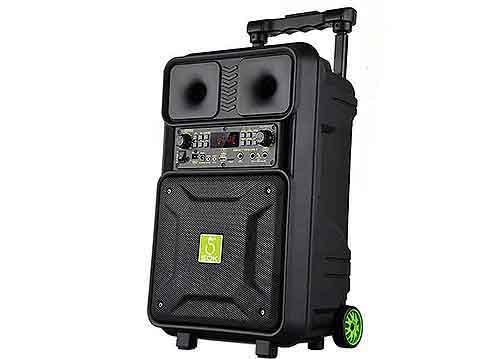 Loa kéo SOK NE803, loa karaoke vỏ nhựa 3.5 tấc, công suất 140W