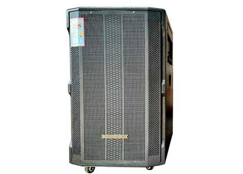 Loa kéo Soundbox SB1513, loa karaoke di động 3 đường tiếng