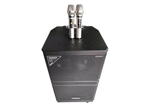Loa kéo Tannoy ED-185, loa karaoke di động 3 đường tiếng