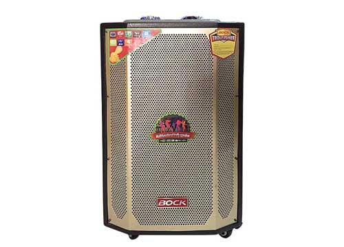 Loa kéo tay Bock GM15, loa di động hát karaoke công suất lớn