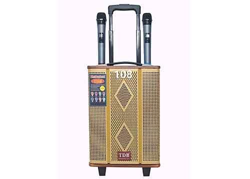 Loa kéo TDB SY-108, loa karaoke du lịch, dùng bass 2 tấc
